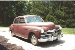 1949 Plymouth #1 - rusty but trusty