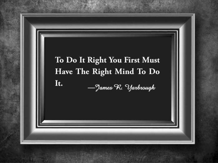 Right Mind to Do It 12-8-14