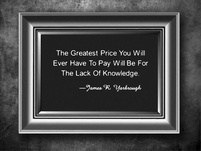 The Greatest Price 1-23-15
