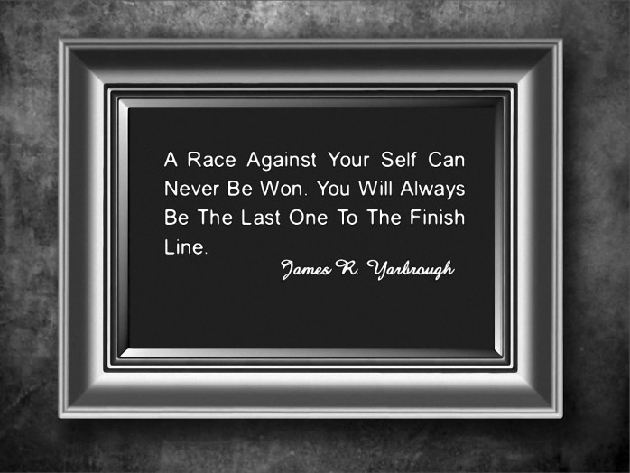 Race Against Yourself 1-23-15