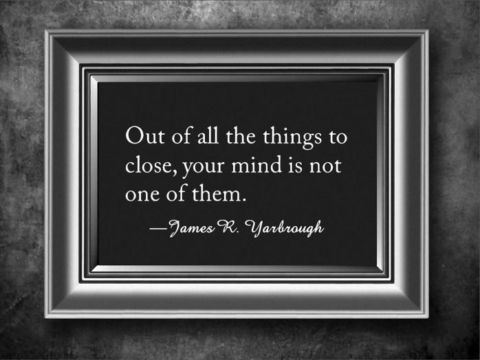 Keep An Open Mind 2-11-16