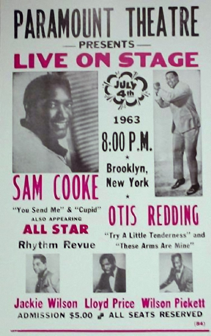 Paramount Theatre Concert Poster