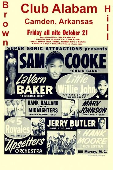 Little Willie John Brown Hill Poster