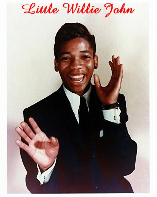 Little Willie John with Name