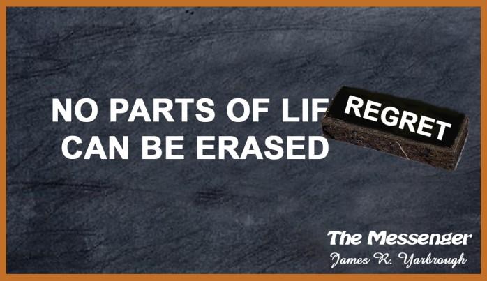 You Cannot Erase Life 8-18-16