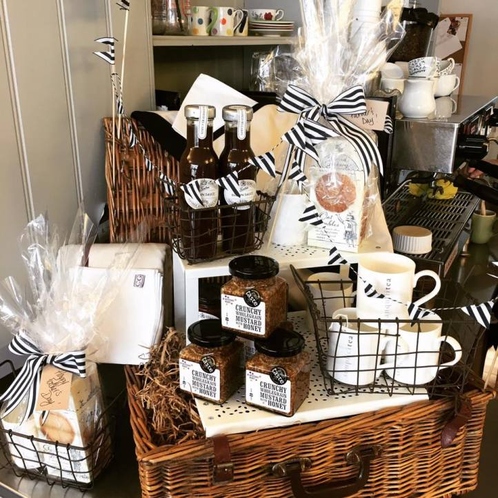 Local products sold at The Linton Kitchen