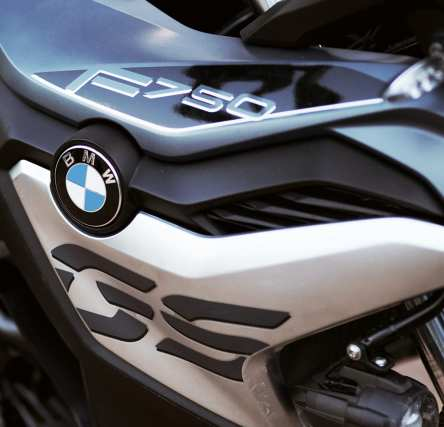 BMW F750GS side panel