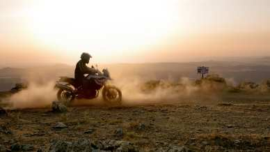 BMW F750GS off road