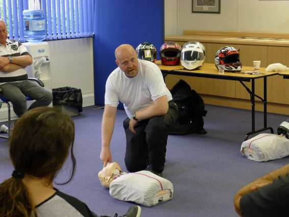 Biker Down Basic Life Saving Actions