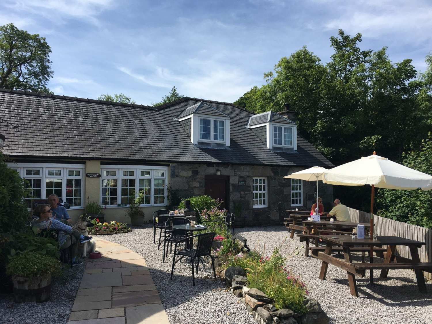 The Smithy New Galloway Exterior
