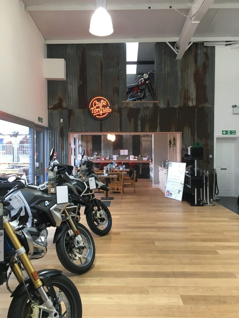 Cafe Torque at Cannon BMW