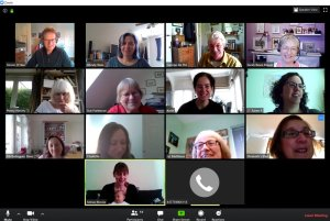 Member catch up on Zoom (5) @ Online - contact the coordinator