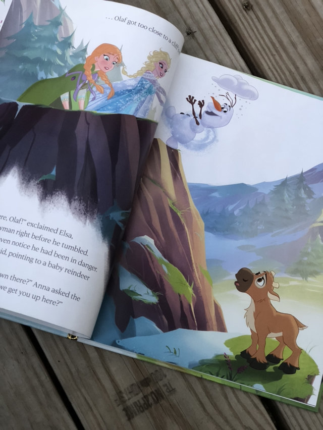 A New Reindeer Friend Disney Frozen Book
