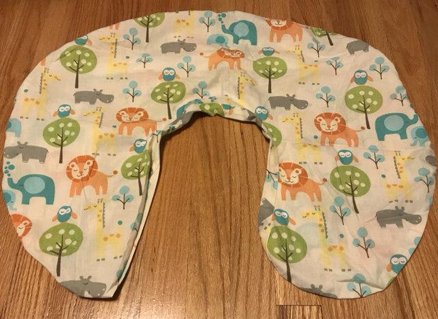 zoo safari animal boppy pillow cover