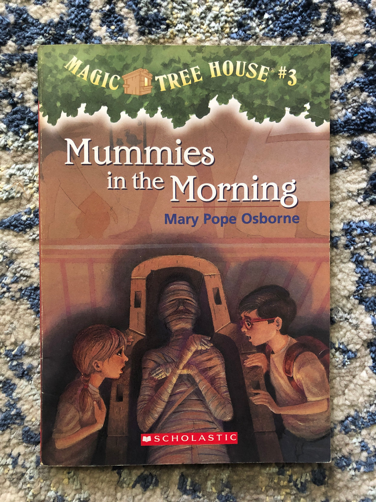 Magic Tree House 3 Mummies In The Morning