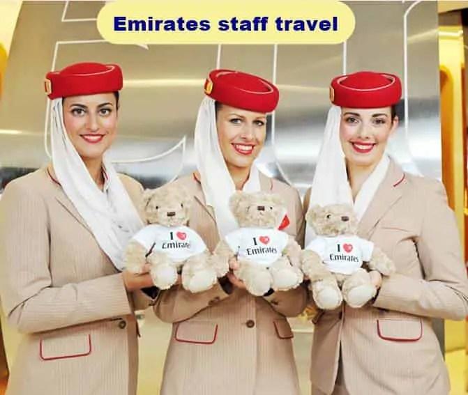 Emirates staff travel