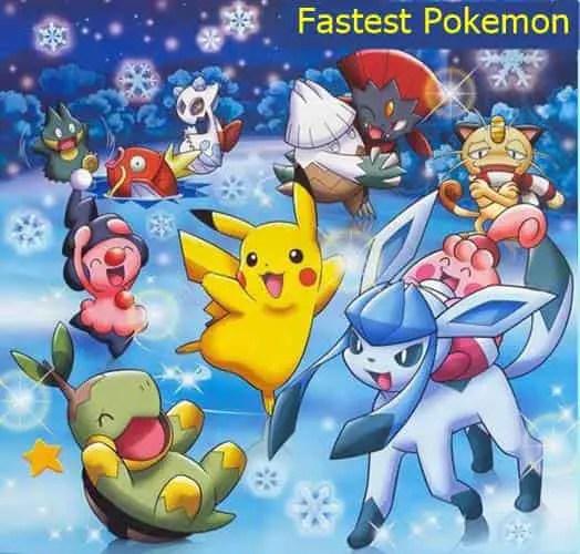 fastest Pokemon