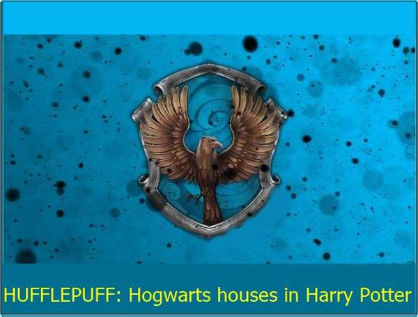 houses in Harry Potter