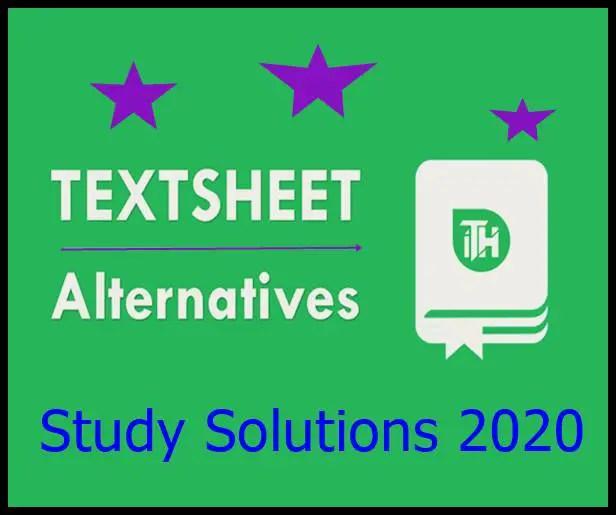 Textsheet com alternative
