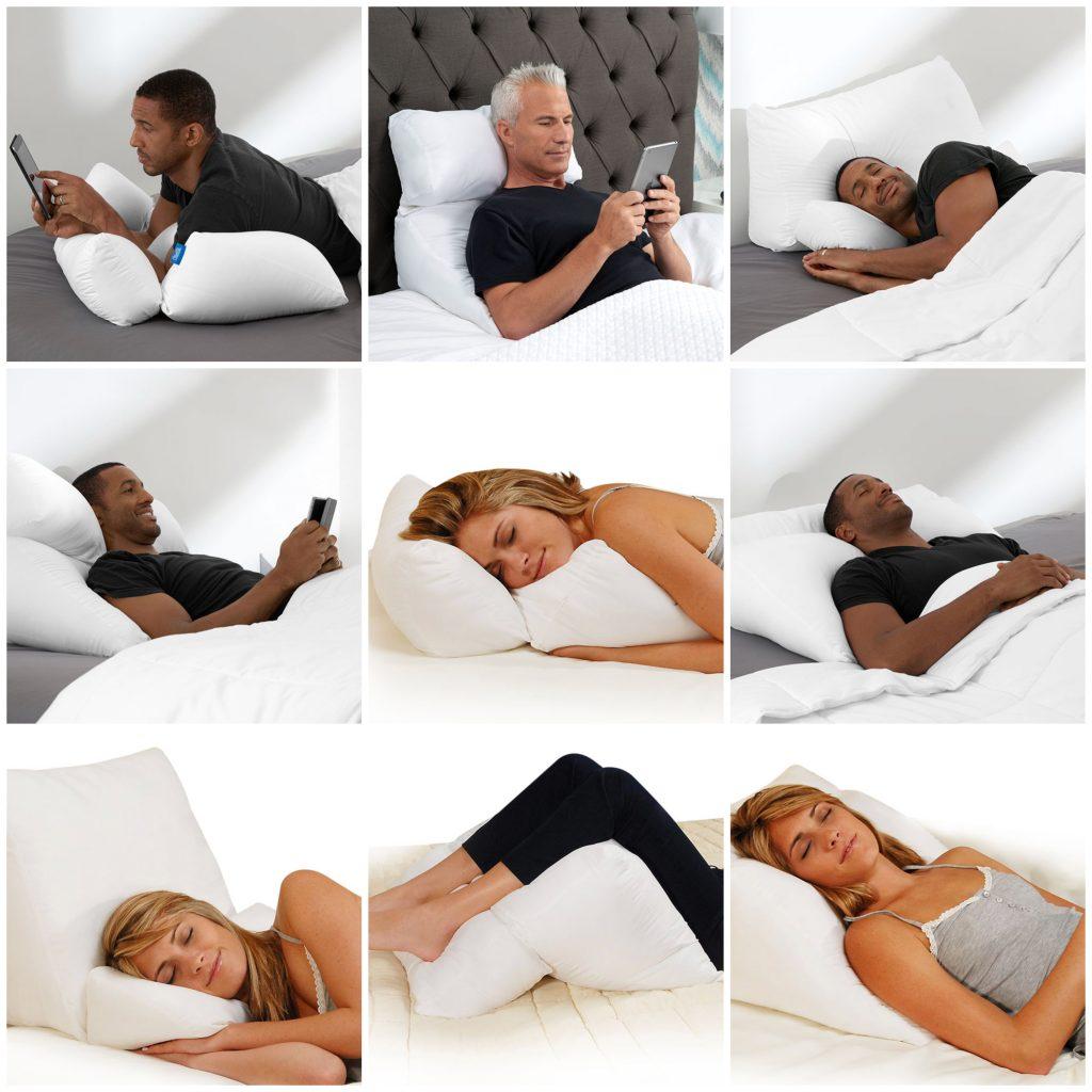 sharper image 10 in 1 pillow