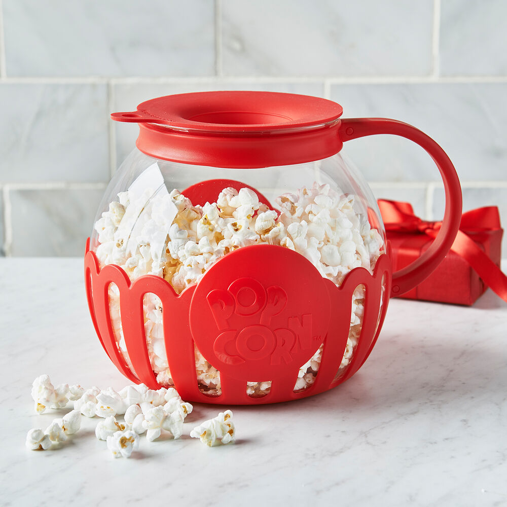this glass microwave popcorn popper