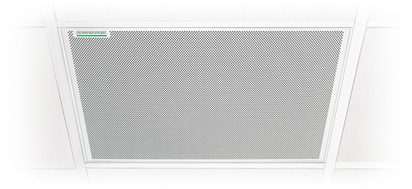 Shure Microflex Advance MXA910 Ceiling Array Microphone product image