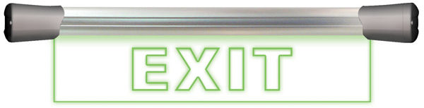 "Sonifex ""Exit"" LED sign product image"