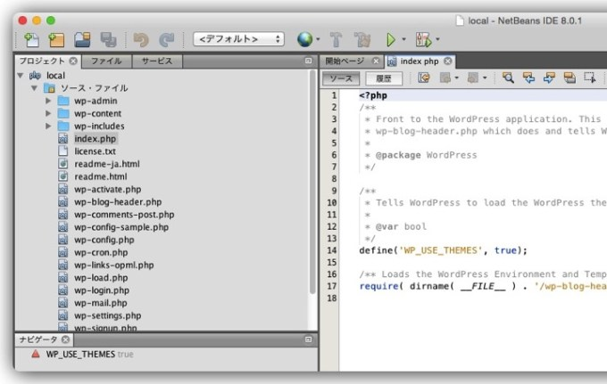 Img netbeans setting local ver 7