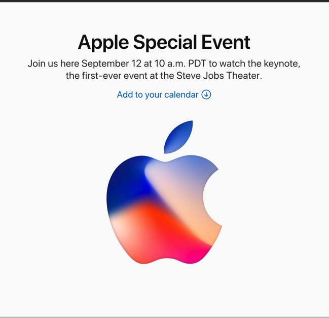 170903 apple special event