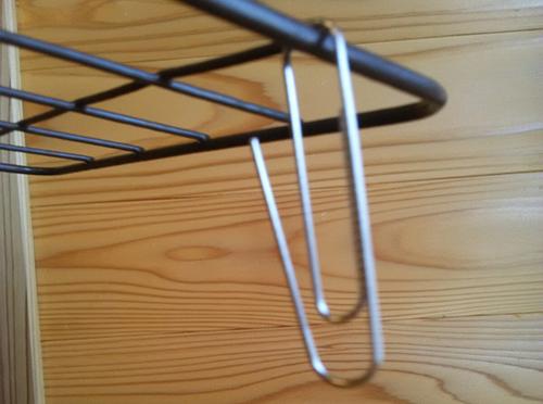 自作洗濯ハンガー用材料(100円ショップで購入)