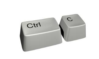 Ctrl + C көшіру