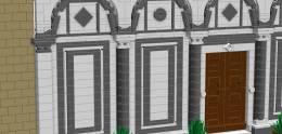 Dettaglio delle decorazioni geometriche (da LDD)