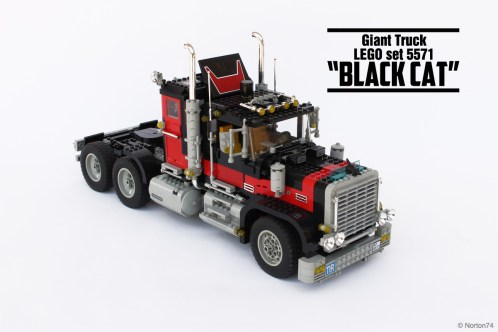 "#5571, Giant truck ""Black Cat"" (1)"