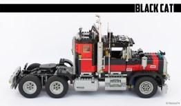 """#5571, Giant truck """"Black Cat"""" (3)"""