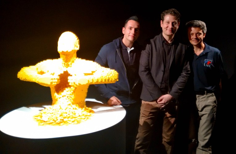 Da sinistra: Yellow, Jonathan, Nathan e Domenico
