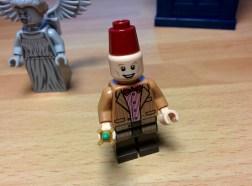 L'Undicesimo Dottore con il fez.