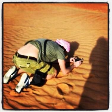 Backstage nel Deserto di Dubai