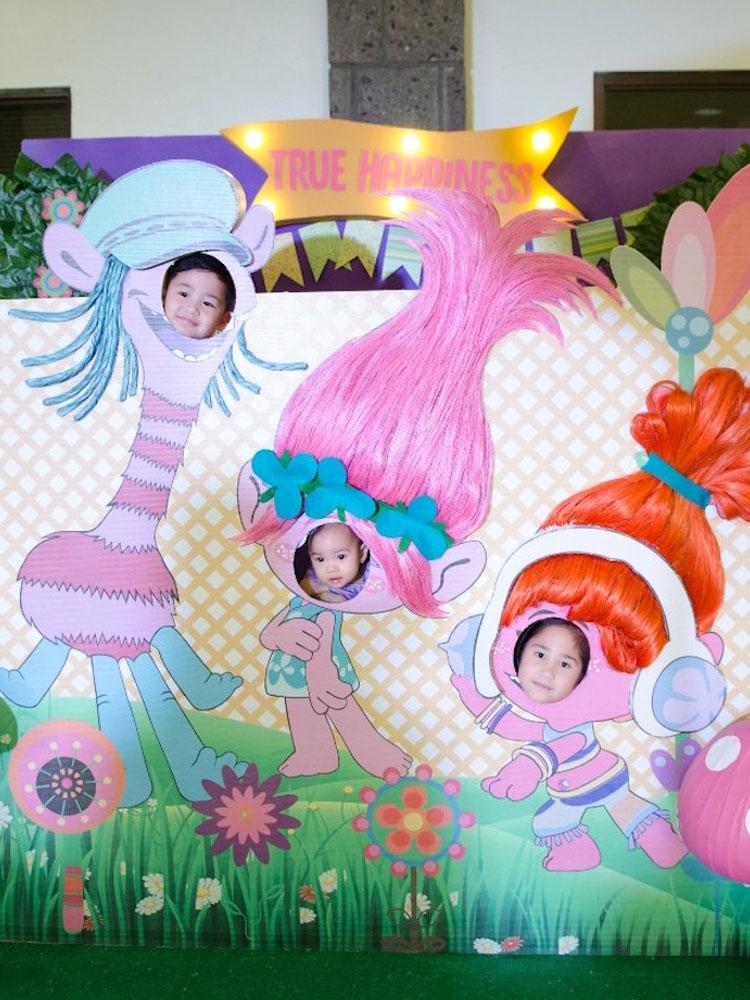 Painel de fotos Festa Trolls 2 Festabox It Mae