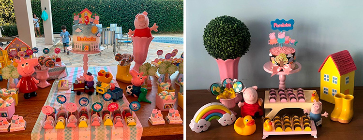 Festa em casa para crianças Peppa Pig - Le Petit Personnaliser - It Mãe