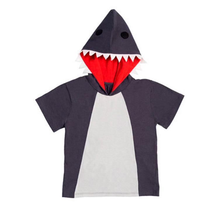 Fantasia Camiseta de Tubarão Taioca Mala de viagem das crianças - It Mãe