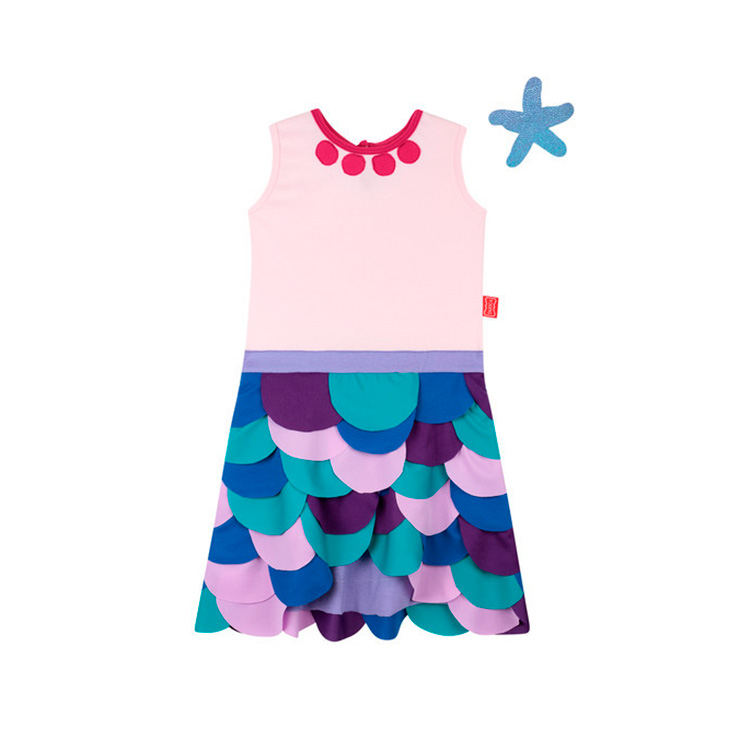 Fantasia Vestido Sereia Taioca Mala de viagem das crianças - It Mãe