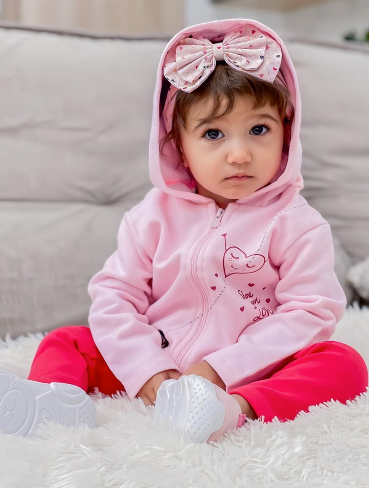conjunto rosa rique baby it mãe
