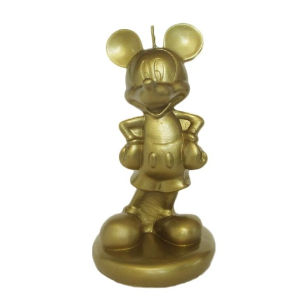 Mickey 3D dourado Rica Festa - It Mãe