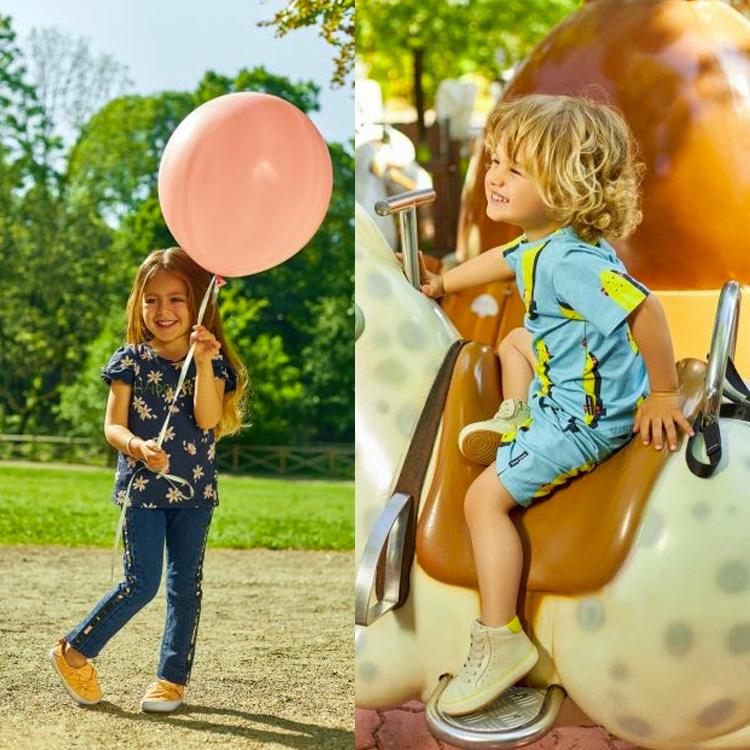 calçados de verão looks infantis irresistíveis laranjeiras kids it mãe