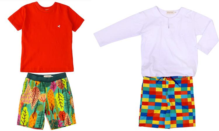 conjuntos coloridos looks infantis para primavera precoce it mãe