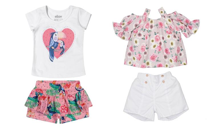 looks infantis para primavera conjuntos femininos rique baby store it mãe