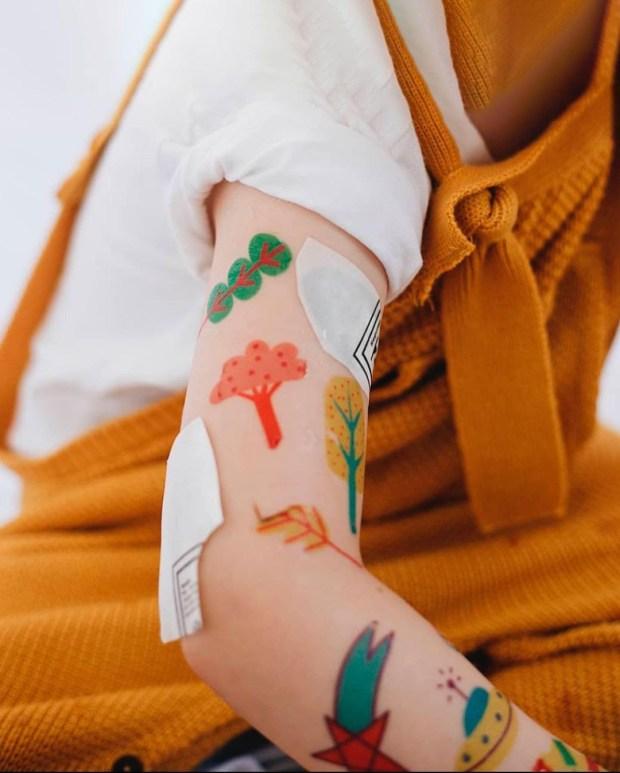Tattoos descoladas - Presentes lúdicos Lana Trends - It Mãe