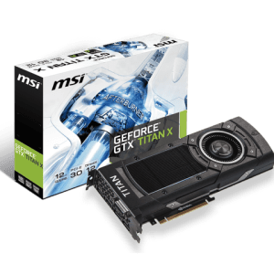 MSI NTITAN X 12GD5 Graphics Card