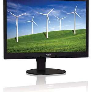 "Philips 24"" 240B4LPYNB LED Monitor with PowerSensor"