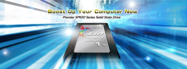 Adata SP610SSD - Top Banner